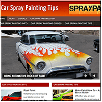 Car Spray Painting PLR