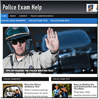 Police Exam PLR Blog