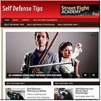 Self Defense PLR Site