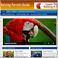 Raising Parrots PLR Blog