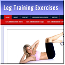 Leg Exercises Blog