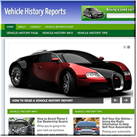 Vehicle History PLR Site