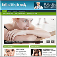 Folliculitis PLR Website