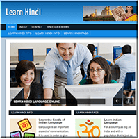 Learn Hindi PLR Site
