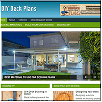 DIY Deck Plans PLR