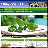 Survive Food Crisis PLR