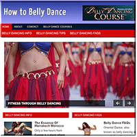 Belly Dance PLR Site