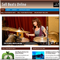 Sells Beats Online PLR