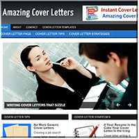 Cover Letters PLR Site