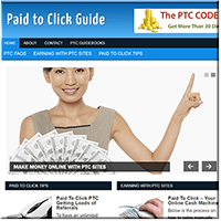 Paid to Click PLR Blog