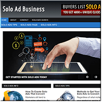 Solo Ads PLR Blog