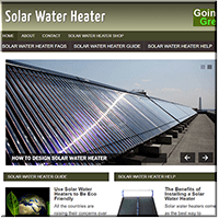 Solar Water Heater PLR