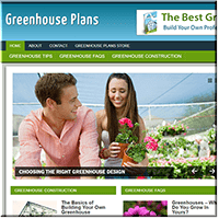 Greenhouse Plans PLR