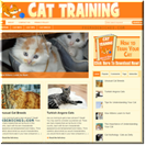 Cat Training Website