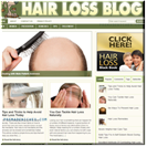 Hairloss Blog PLR