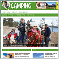 Camping & Hiking PLR