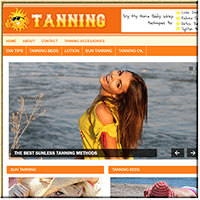 Tanning Guide PLR Blog