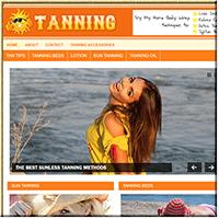 Tanning Guide PLR Blog