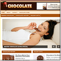 Chocolate PLR Blog