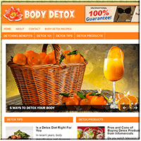 Body Detox PLR Blog