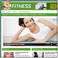Fitness PLR Blog