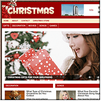 Christmas PLR Website