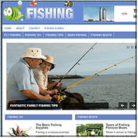 Fishing PLR Website
