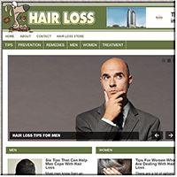 Hairloss PLR Blog