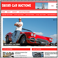 Seized Car PLR Blog