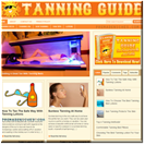 Tanning Guide Website