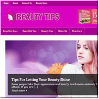 Beauty Tips PLR Blog
