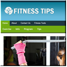 Fitness Tips Website