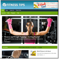Fitness Tips PLR Blog