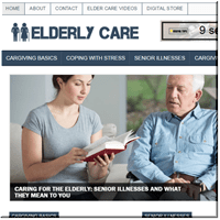Elderly Care PLR Blog