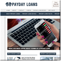 Payday Loans Turnkey Website