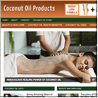 Coconut Oil PLR Blog