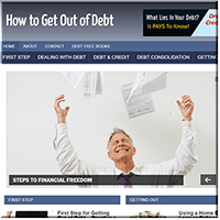 Get Out Debt PLR Blog