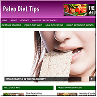 Paleo Diet Tips PLR Site