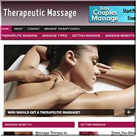 Therapeutic Massage PLR