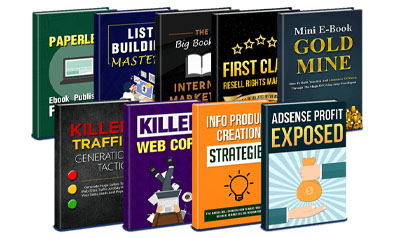 9 ebooks for resell
